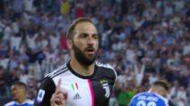 """Juventus-Napoli, Gonzalo Higuain: """"La partita è stata una montagna russa"""""""