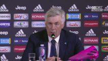 """Juventus-Napoli, Carlo Ancelotti: """"Molto male per un'ora, sconfitta meritata"""""""