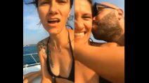 Elisa e Giuliano Sangiorgi insieme in barca: 'Ti vorrei sollevare'