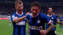 Inter-Udinese, il gol di Sensi di testa in tuffo