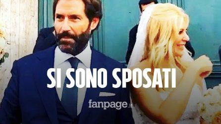 Eleonora Daniele e Giulio Tassoni si sono sposati: dopo 16 anni di fidanzamento hanno detto sì