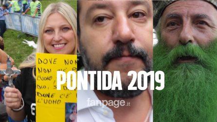 Lega, viaggio nella festa di Pontida 2019 tra Salvini, crocifissi, Fatima, Lourdes e migranti