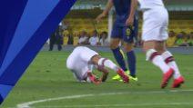 Serie A, Verona-Milan: l'espulsione di Stepinski