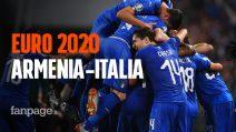 Euro 2020, l'Italia di Mancini sfida l'Armenia: le probabili formazioni e dove vederla
