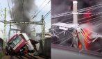 Treno si scontra con un camion fermo al passaggio a livello: terribile incidente, almeno 30 i feriti