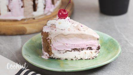 Ice cream cake: easy, simple and tasty!