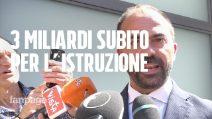 """Istruzione, il neo-ministro Fioramonti: """"Servono 3 mld, tassare ciò che danneggia salute"""""""
