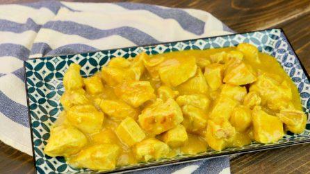 La ricetta originale del pollo al curry