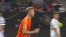 Germania-Olanda, sfortuna De Ligt: punito col rigore il tocco di mano