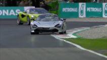Che Brividi per Petagna: giro da urlo a Monza con Alonso