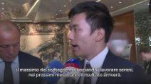 """Inter, il presidente Zhang: """"Serve pazienza, ma l'Inter tornerà a vincere"""""""