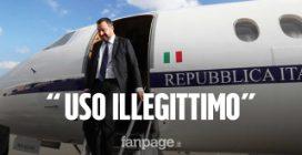 """Guai per Matteo Salvini, Corte dei Conti: """"I voli di Stato dell'ex ministro sono illegittimi"""""""