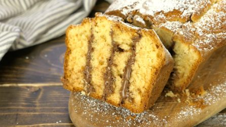 Pound cake: if you are a chocolate lover, you will absolutely go crazy for this cake!