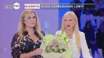 Festa di compleanno a sorpresa per Lory Del Santo