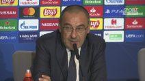 """Juve a Madrid, Sarri: """"Giochiamo sempre per vincere"""""""