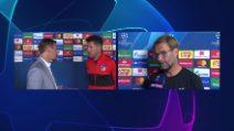 """Champions, Klopp dopo Napoli-liverpool: """"Ruiz ovunque, Carlo è una volpe"""""""