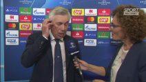 """Champions League, Ancelotti dopo Napoli-Liverpool: """"Ci sentiamo molto amati"""""""