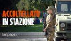 Militare ferito alla stazione Centrale di Milano: riesplodono le polemiche sulla sicurezza