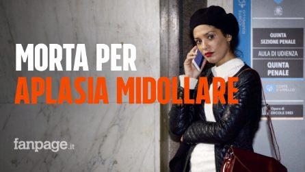 """Imane Fadil, la procura: """"Non c'è stato avvelenamento, è morta per un'aplasia midollare"""""""