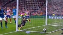 Champions, Atletico Madrid-Juventus 2-2, gol e highlights