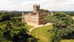 In visita al castello di Downton Abbey
