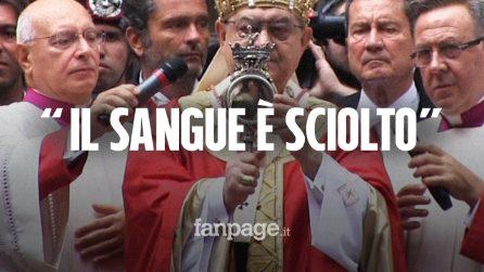 San Gennaro, il miracolo si ripete davanti alle proteste dei lavoratori Whirlpool