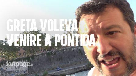 """Salvini: """"La bambina a Pontida? Mi ha chiesto lei di salire sul palco"""""""
