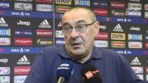 """Juventus, Maurizio Sarri: """"C'è ancora da migliorare"""""""