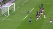 Brivido Var, l'Inter sblocca il derby: il gol di Brozovic