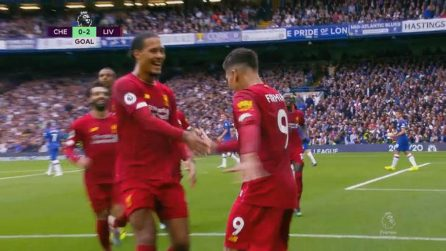 Chelsea-Liverpool 1-2: gol e highlights