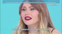 """Domenica Live, Jasmine Carrisi: """"Non sono fidanzata con il figlio di Biagio Antonacci"""""""