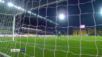 Atalanta-Fiorentina: Chiesa per Ribery, fenomenale gol al volo del francese