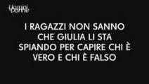 """Uomini e Donne, Francesco non sa di essere ripreso: """"Giulia non mi piace, vorrei fare il tronista"""""""