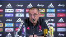 Brescia-Juventus, Sarri su Balotelli e gli infortuni di Higuain e CR7