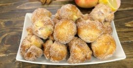 Apple fritters balls: soft and delicious!