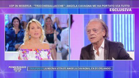 """Orlando Portento: """"Mai amato Angela Cavagna!"""""""