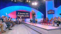 Uomini e Donne trono over: la sfilata in jeans di Anna