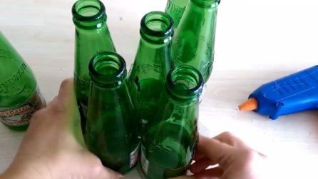 Come riciclare le bottiglie di vetro: l'idea originale per la tua casa