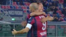 Bologna-Real Legends, il gol di Marco Di Vaio