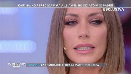 """Il racconto di Karina Cascella: """"Mio padre ci picchiava"""""""