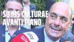 """Zingaretti: """"Giusto discutere di ius culturae"""". Lamorgese non parla e rilancia codice Minniti per ONG"""