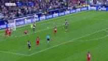 Champions: Juventus-Bayer, il gol di Bernardeschi