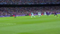 Champions, Barcellona-Inter 2-1: il gol di Lautaro Martinez