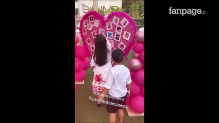 """Festa a tema """"Pamela Prati"""" per il compleanno della figlia di Guendalina Tavassi"""