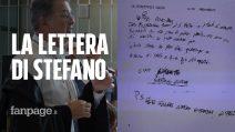 """Cucchi bis, l'ultima lettera scritta da Stefano prima di morire: """"Scusami, mi posso muovere poco"""""""