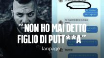 """Damiano Er Faina contro Tina Cipollari: """"Non ho mai detto figlio di putt**a a suo figlio"""""""