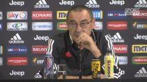 """Derby d'Italia, Maurizio Sarri: """"Non è Sarri contro Conte ma Inter-Juve"""""""