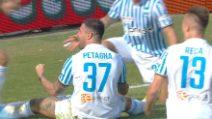 Serie A, 7a giornata: Spal-Parma, il gol di Petagna