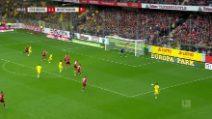 Bundesliga, Friburgo-Borussia Dortmund 2-2: gol e highlights