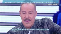 """Domenica Live, Massimo Lopez: """"Mia mamma mi manca tantissimo"""""""